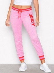 Juicy Couture Juicy Boucle Microterry Zuma Pant Bukser Bright Pink