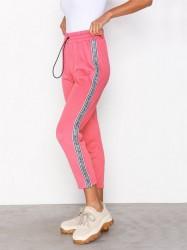 Juicy Couture JXJC Tricot Logo Stripe Pant Bukser Rose