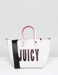 Juicy Couture Logo Mini Tote Bag - White