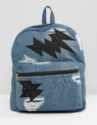 Juicy Couture Pacific Denim Backpack - Blue