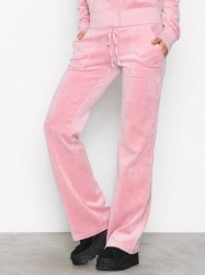 Juicy Couture Velour Del Rey Pant Bukser Dusty Pink