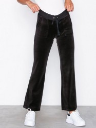 Juicy Couture Velour Del Rey Pant Bukser Oxford