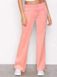 Juicy Couture Velour Del Rey Pant Bukser Pink