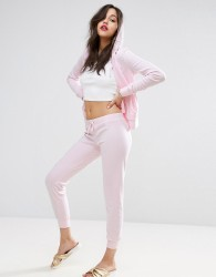 Juicy Couture Velour Zuma Skinny Jogger - Pink