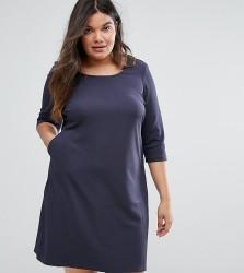 Junarose Shift Dress - Blue
