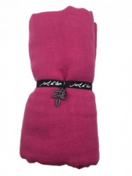 Just d'Lux - Single Coloured Scarf - Pink