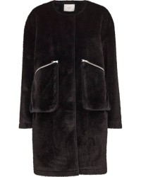 Just Female Hampton fake fur coat (SORT, XS)