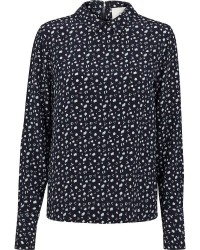 Just Female Lett blouse (MØRKEBLÅ, S)