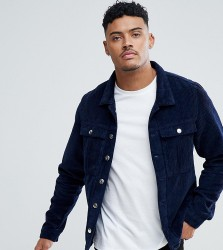 Just Junkies Cord Trucker Jacket - Blue