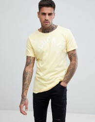 Just Junkies Lucky Print T-Shirt - Yellow