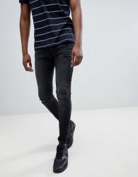 Just Junkies Super Skinny distressed Jeans - Grey