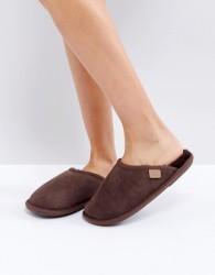 Just Sheepskin Shaftsbury Slippers - Brown
