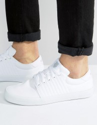 K-Swiss Backspin Trainers In White - White