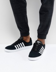 K-Swiss Court Cheswick SDE Trainers In Black - Black