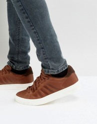 K-Swiss Court Frasco Trainers In Brown - Brown