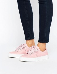K-Swiss Premium Leather Court Classico Trainers In Pink - Pink