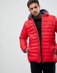 Kappa Bacrio Full Zip Training Jacket - Red