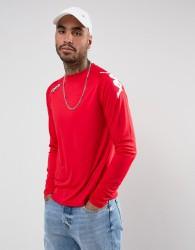 Kappa Veneto Long Sleeve Sport Top - Red