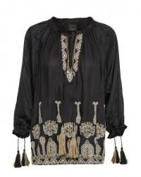 Karen By Simonsen Appreciation blouse (SORT, 36)