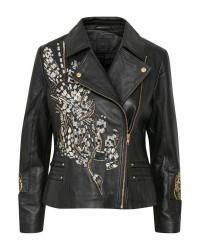 Karen By Simonsen Bad Leather Jacket 10101370 (Sort, 38)