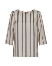 Karen By Simonsen Logic blouse (SAND, 38)