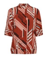 Karen By Simonsen Outspoken blouse (CORAL, 38)