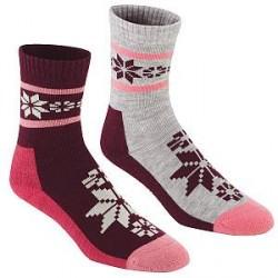 Kari Traa 2-pak Rusa Wool Sock - Lilac * Kampagne *