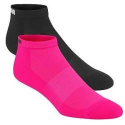 Kari Traa 2-pak Skare Sock - Black/Pink - Str 39/41