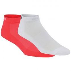 Kari Traa 2-pak Skare Sock - Coral/White * Kampagne *