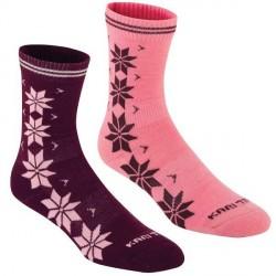 Kari Traa 2-pak Vinst Wool Sock - Pink/Lilac * Kampagne *