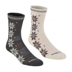 Kari Traa 2-pak Vinst Wool Sock - White/Grey * Kampagne *