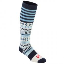 Kari Traa Åkle Sock - Navy pattern * Kampagne *
