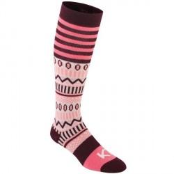Kari Traa Åkle Sock - Pink Pattern * Kampagne *