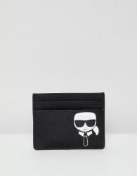 Karl Lagerfeld iconic cardholder - Black