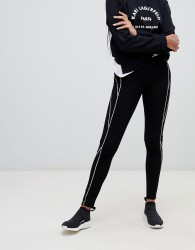 Karl Lagerfeld punto logo leggings - Black