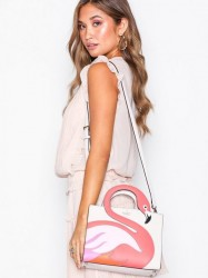 Kate Spade New York Flamingo Håndtaske Bone