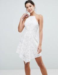 Keepsake Plain Sight Mini Dress - Cream