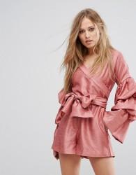 Keepsake Set In Stone Playsuit - Pink