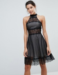 Keepsake Starstruck Mini Dress - Black