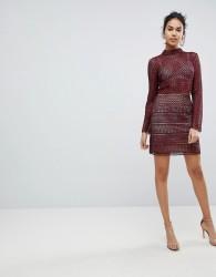 Keepsake Sweet Nothing Crochet Lace Skirt - Brown