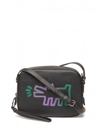 Keith Haring Barking Crazy Dog Camera Bag
