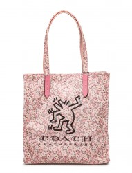 Keith Haring Dancing Man Ki Tote