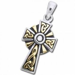 Keltisk Kors - 30mm - u/kæde