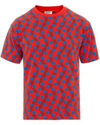 Kenzo All Over Dots T-shirt Red/Blue