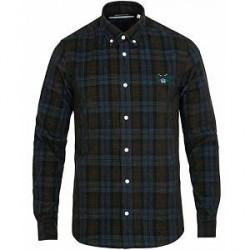 Kenzo Casual Fit Tiger Corduroy Shirt Dark Blue
