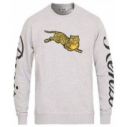 Kenzo Jumping Tiger Sweatshirt Grey