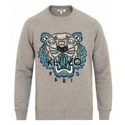 Kenzo Leopard Tiger Sweatshirt Grey