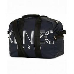 Kenzo Nylon Logo Weekendbag Navy