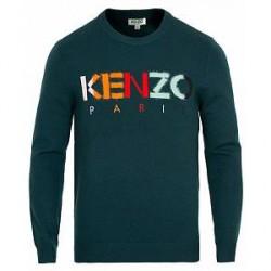 Kenzo Paris Jumper Green