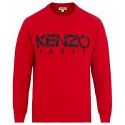 Kenzo Paris Sweatshirt Red
